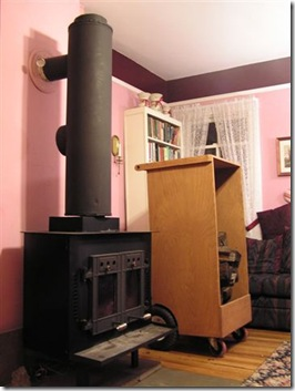 Woodstove Heat Exchanger