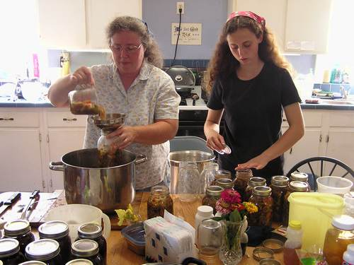 Canning Veggie Soup